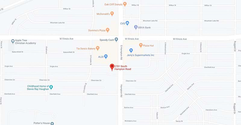 Metroplex Medical Centres Griego Family Medical Map